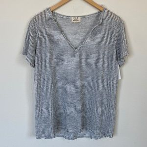 PST by Project Social T Raw Slub Stripe Tee XL